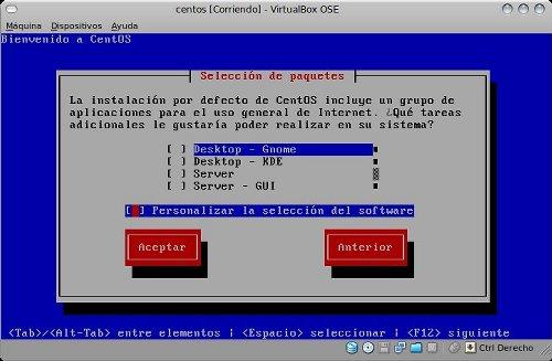 Instalación CentOS 5.4 Linux