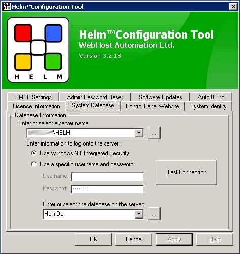 Helm Configuration Tool