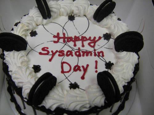 Feliz día del sysadmin