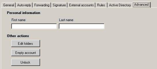 Hmailserver unlock pop