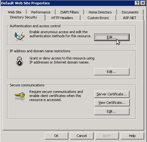 denegar IP rango en IIS