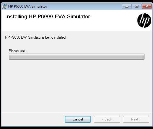 Instalación simulador HP EVA P6000