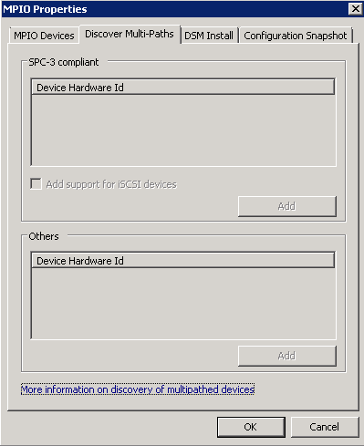 Multipath Windows 2008 Server