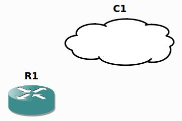 Router y Cloud GNS3