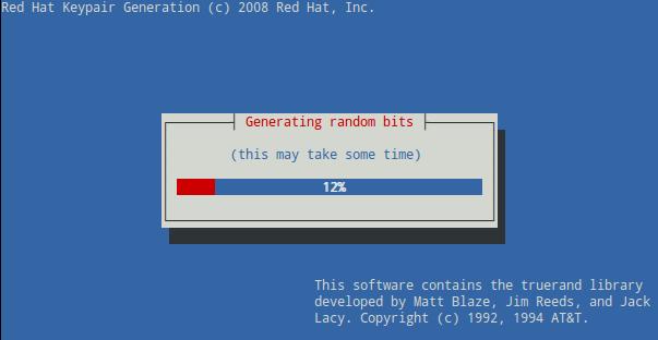 Generar un certificado SSL con genkey (Red Hat Keypair Generation) 3