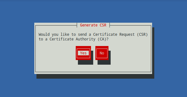 Generar un certificado SSL con genkey (Red Hat Keypair Generation) 5
