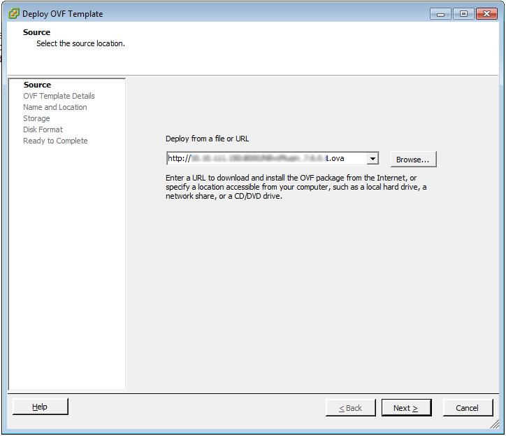 vCenter Deploy OVF Template 2