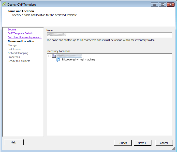 vCenter Deploy OVF Template 3