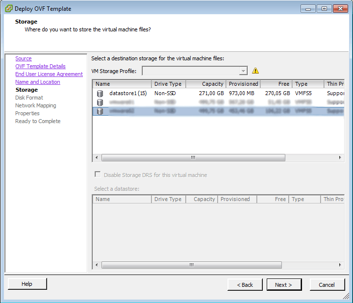 vCenter Deploy OVF Template 4
