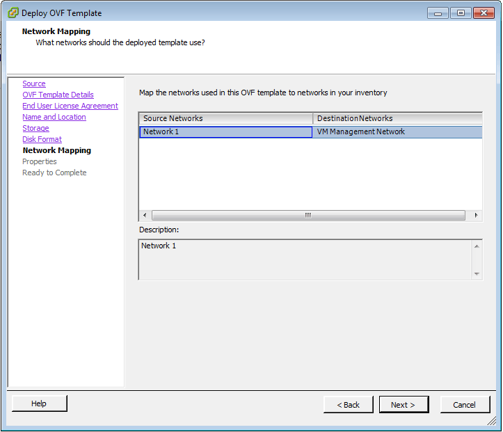 vCenter Deploy OVF Template 6