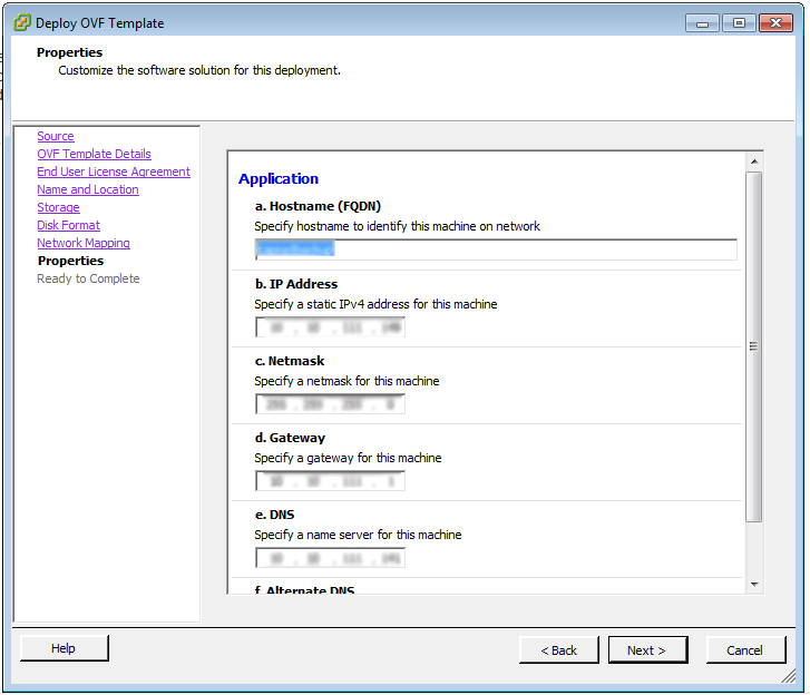 vCenter Deploy OVF Template 1