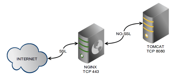 nginx tomcat reverse proxy